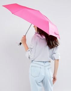 Розовый зонт с ручкой в форме утки Totes - Розовый