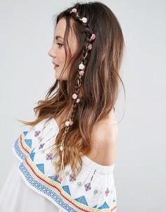 Украшение для волос с миниатюрными гвоздиками ASOS - Мульти