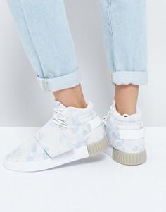 Камуфляжные кроссовки adidas Originals Tubular Doom - Белый
