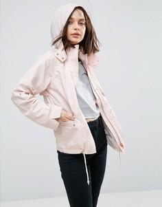 Летняя куртка с капюшоном ASOS - Розовый