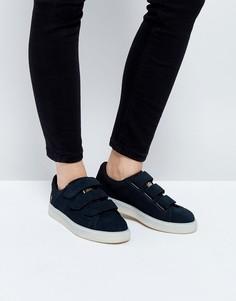 Черные кроссовки на липучке Puma X Careaux Basket - Черный