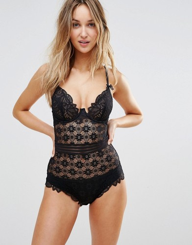 Боди Lepel London Charlie - Черный