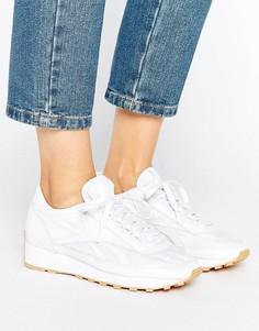 Белые кроссовки на резиновой подошве Reebok Aztec - Белый