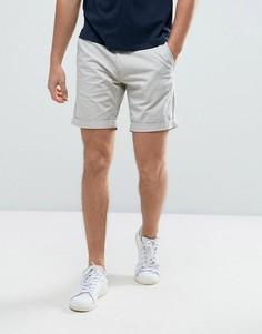 Эластичные шорты чиносы слим Selected Homme - Кремовый