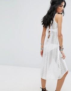 Платье с завязкой на спине Glamorous - Белый