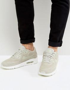 Бежевые кроссовки Nike Air Max 90 898010-002 - Бежевый