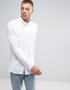 Белая трикотажная рубашка с длинными рукавами Lindbergh - Белый