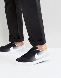 Черные кроссовки Nike SB Blazer Vapor 902663-014 - Черный