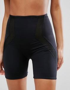 Корректирующие шорты с сетчатой вставкой ASOS - Черный