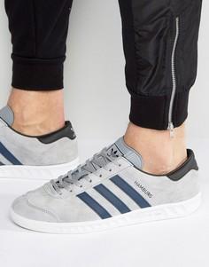 Серые кроссовки adidas Originals Hamburg BB5298 - Серый