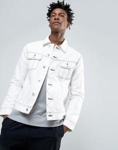 Джинсовая куртка Weekday Musk - Белый
