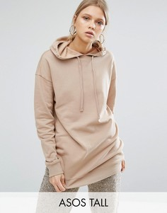 Oversize-худи ASOS TALL Ultimate - Розовый