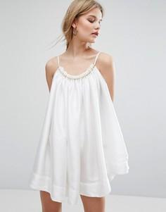 Платье Asilio Ship Of Fools - Белый