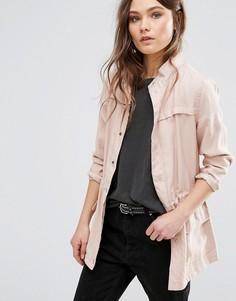 Куртка в стиле милитари New Look - Розовый