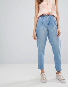Свободные джинсы в винтажном стиле Vero Moda - Синий