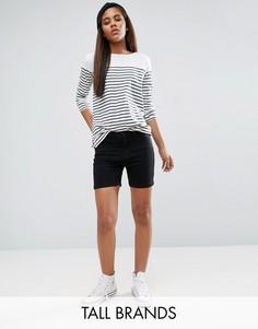 Джинсовые шорты Vero Moda Tall - Черный