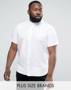 Базовая оксфордская рубашка D-Struct PLUS - Белый
