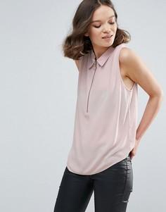 Рубашка без рукавов Mbym - Розовый