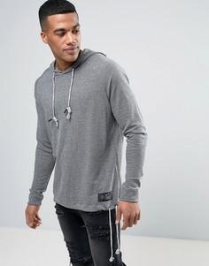 Худи с затягивающимся шнурком Religion - Серый