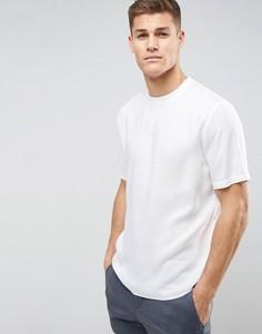Вискозная oversize-рубашка ASOS - Белый