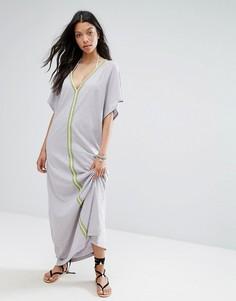 Пляжное платье Pitusa Pima Abaya - Серый