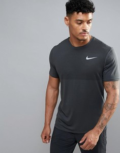 Серая футболка Nike Running Zonal Relay 833580-060 - Серый