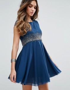 Платье для вечеринок Free People Rock Candy - Синий