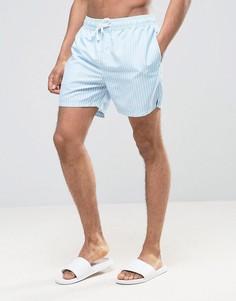 Полосатые шорты для плавания Ringspun - Синий