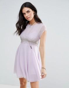 Платье для вечеринок Free People Rock Candy - Фиолетовый