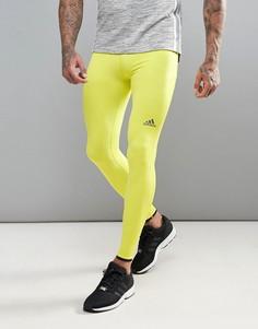 Спортивные леггинсы Adidas Training Tech Fit Hero - Зеленый