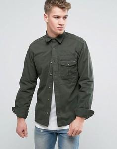 Рубашка навыпуск Jack & Jones - Зеленый