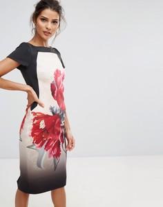Цельнокройное платье миди Coast Katsura - Мульти