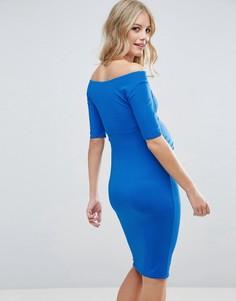 Платье с укороченными рукавами ASOS Maternity TALL - Синий