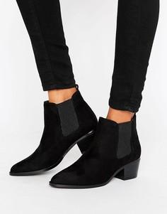 Ботинки челси с острым носком Head Over Heels - Черный