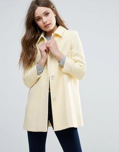 Пальто с добавлением шерсти Helene Berman - Желтый