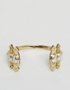 Броский браслет-манжет House Of Harlow - Золотой
