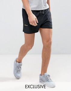 Спортивные двухслойные шорты Ellesse - Черный