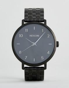 Черные часы Nixon - Черный