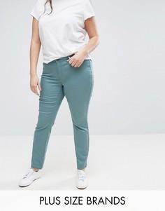 Светлые зауженные джинсы Junarose - Синий