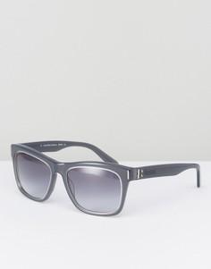 Солнцезащитные очки в квадратной оправе CK Collection - Серый Calvin Klein