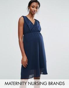 Платье без рукавов Mama.licious Nursing - Темно-синий