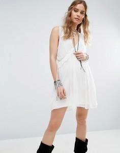 Платье мини Free People Rio Grande - Белый