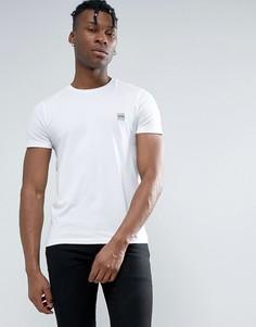 Белая узкая футболка с логотипом BOSS Orange by Hugo Boss - Белый