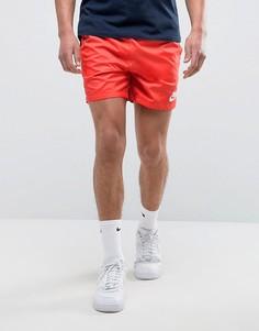Красные шорты Nike 832230-602 - Красный
