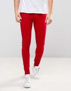 Красные джинсы Dr Denim Lexy - Красный