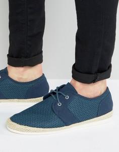Темно-синие сетчатые туфли KG By Kurt Geiger - Синий