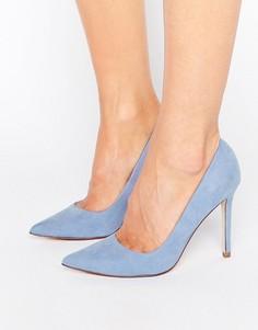 Туфли на высоком каблуке с острым носком ASOS PERU - Синий