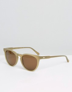 Солнцезащитные очки кошачий глаз Raen - Бежевый