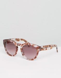 Солнцезащитные очки кошачий глаз с градиентными стеклами Raen - Розовый