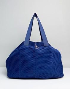 Сетчатая сумка ASOS LIFESTYLE - Синий